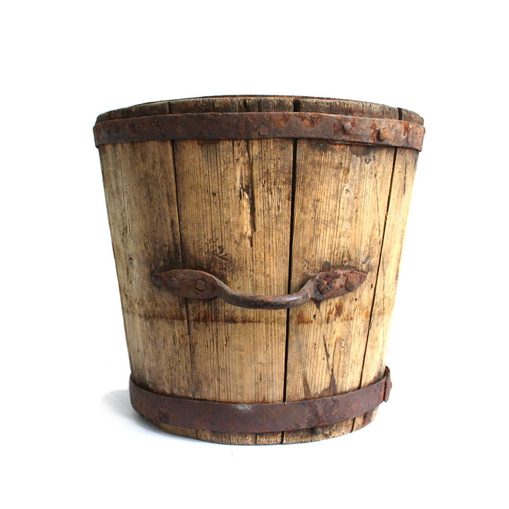Antique wooden bucket - Based on a True story